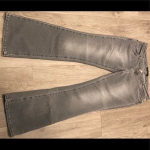 American Eagle light gray jeans size 8